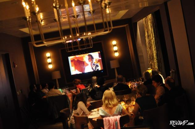 Bourbon Steak opened-up its private dining room for a special 'Mad Men' viewing party.