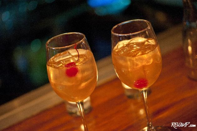 Mie N Yu Bar Chef Rob Tinney's 'Cupid's Arrow' cocktail will be offered to couples over Valentine's Day weekend.