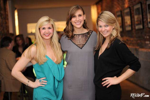 (L-R) The Madison 2011 Recruitment Chair Josie Taylor, Vice President Erin Korte & President Maggie Pitts.