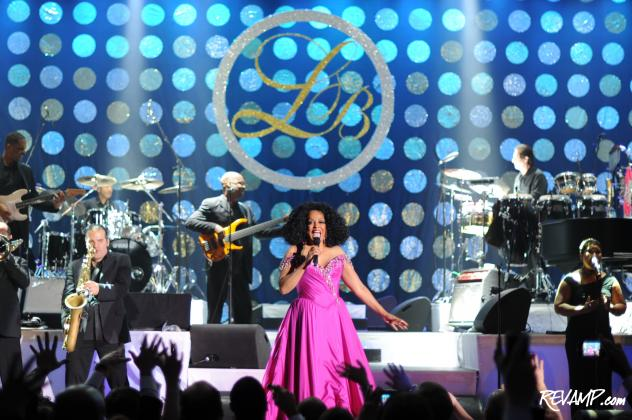 Pop icon Diana Ross headlined the 24th Annual Leukemia Ball, including no less than five costume changes!