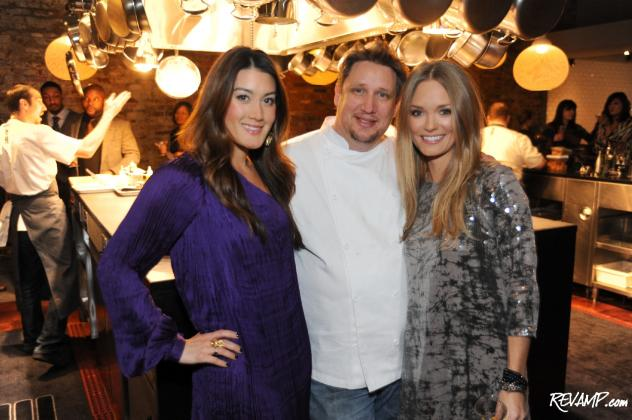 Gilt City D.C. Curator Marissa Schneider, Rogue 24 Chef R.J. Cooper, and Metrocurean's Amanda McClements.