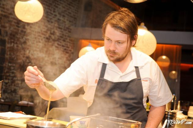 Chicago-based Blackbird's Chef de Cuisine David Posey was charged with Rogue 24's fifth 'Rogue Session'.