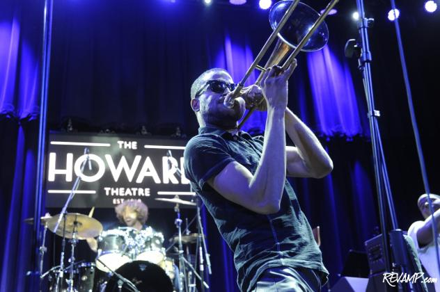 GRAMMY-nominated Trombone Shorty headlined the VIP Grand Opening Concert for Howard Theatre.
