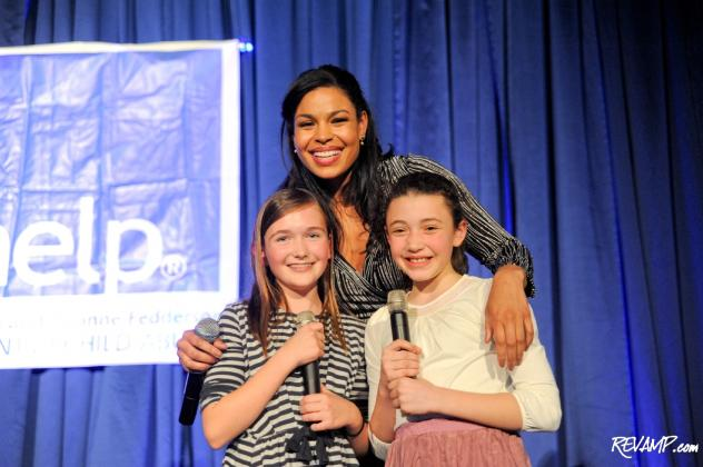 Sixth season 'American Idol' winner Jordin Sparks headlined the 2012 Capitol CAREaoke competition benefiting Childhelp.