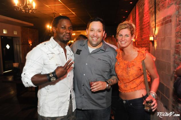 'Food Network Star' finalist Chef Malcolm Mitchell, Bandolero owner Chef Mike Isabella, and 'Top Chef' fan favorite Chef Jennifer Carroll.