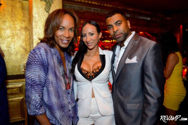 CW DC 50's Paul Wharton and R&B star Ginuwine and his wife Tonya (previous rapper Sole).