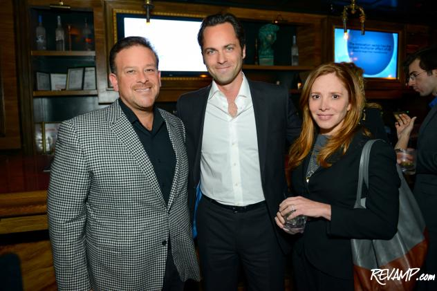 (L-R) ObjectVideo CEO Raul Fernandez, Internet Association President & CEO Michael Beckerman, and venture capitalist Andrea Kaufman.