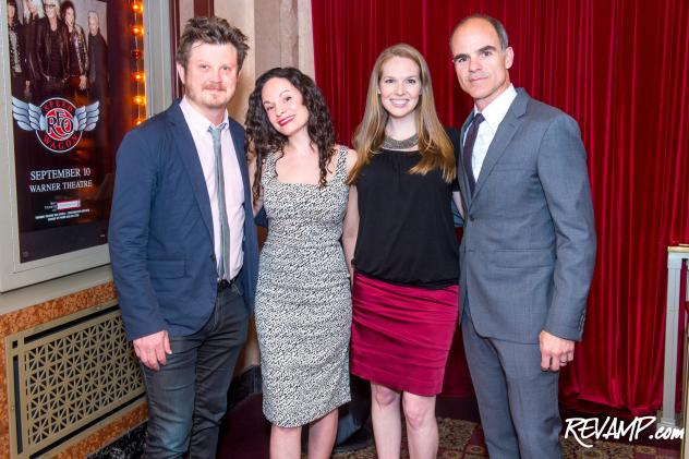 House of Cards creator Beau Willimon, SLUT playwrights Katie Cappiello and Meg McInerney, and House of Cards star Michael Kelly.
