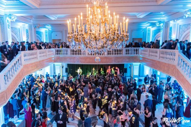 The 2018 SOME Winter Ball drew 800 guests to the National Museum of Women in the Arts.