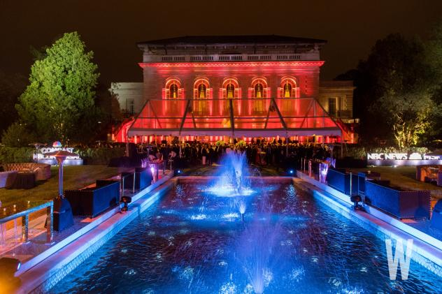 The veranda and garden of the Art Museum of the Americas served as the backdrop for the 2018 NBC News & MSNBC WHCD After Party.