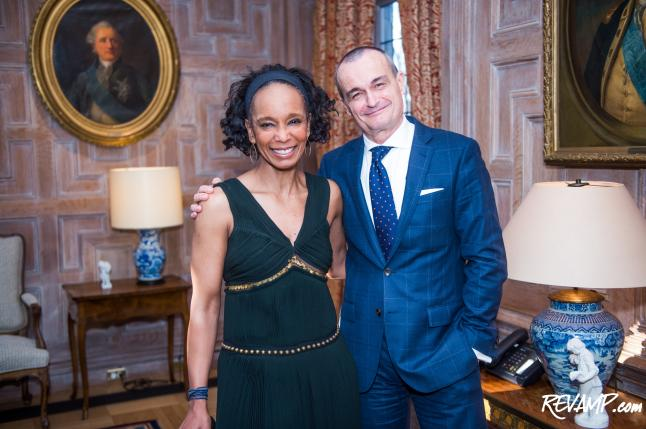 Pulitzer-Winning Author Robin Givhan's Newest Book Feted By French AMB Gerard Araud & Vogue Editor Andre Leon Talley
