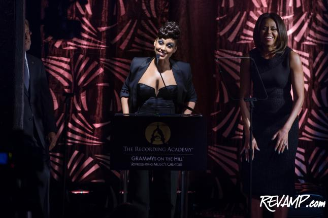 Alicia Keys, MOCs Honored At GRAMMYs On The Hill Awards; FLOTUS Among VIPs At Annual D.C. Music Confab
