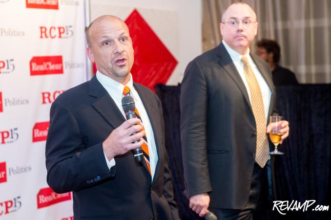 RealClearPolitics Fetes 15th Anniversary With A Real Good Celebration