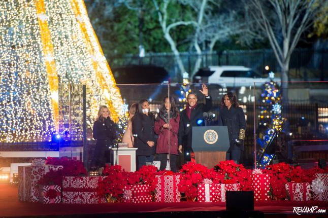 President's Park Plays Host To 2015 National Christmas Tree Lighting