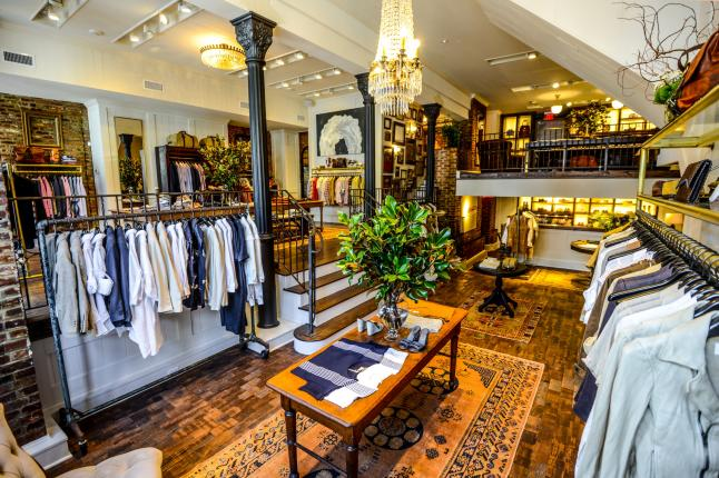 Billy Reid Store Opening Brings 'American Work Wear' & 'Southern Dandyism' To Georgetown