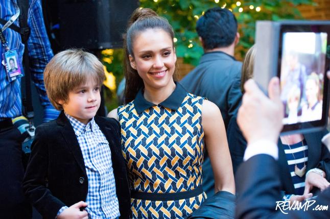 Jessica Alba Keeps 'Front Row' Honest; Signature Bethesda Row Runway Show Draws Hundreds