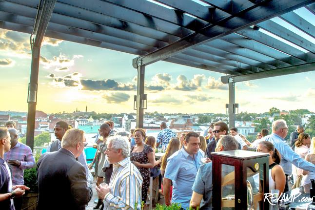 Rum Day DC Kicks Off w/ 'Smoking' Hot Summer Soiree Atop Graham Hotel