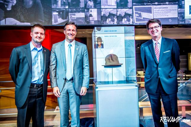 Arby's Tips Hat To Newseum; Pharrell's Famed GRAMMY Accessory Arrives At Museum