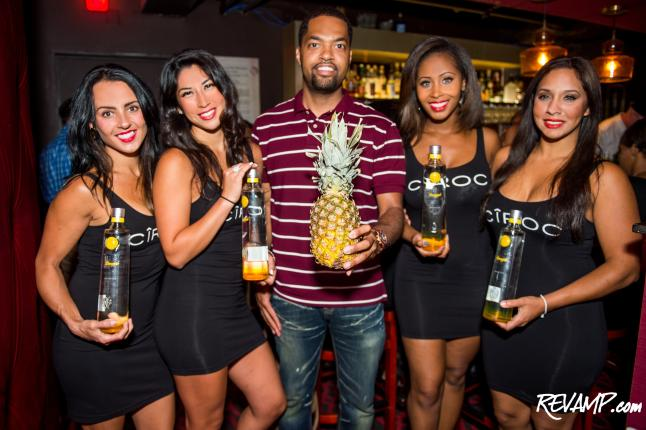 The Sheppard Toasts Arrival Of Ciroc Pineapple To District