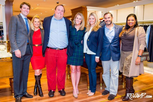 Brooks Brothers Reveal Party Full Of 'Dignity'; Remodeled Dupont Circle Store Now Open