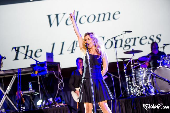 The Band Perry Croons For 114th Congress; GRAMMYs On The Hill Musical Briefing Celebrates Lawmakers' Return