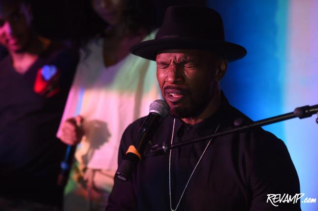 W Washington D.C. Goes 'Hollywood' For Jamie Foxx Album Preview Party