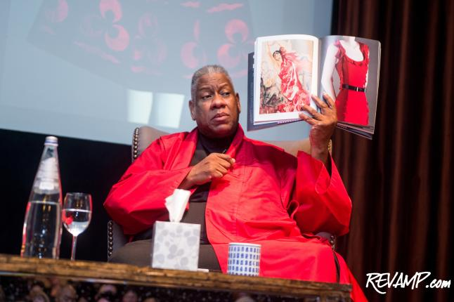 Haute Couture Combines With Haute Culture At Freer/Sackler's Andre Leon Talley Book Signing Celebration