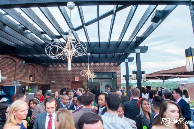 Champagne Flows At The Graham Hotel's Fourth Annual VIP Anniversary Party