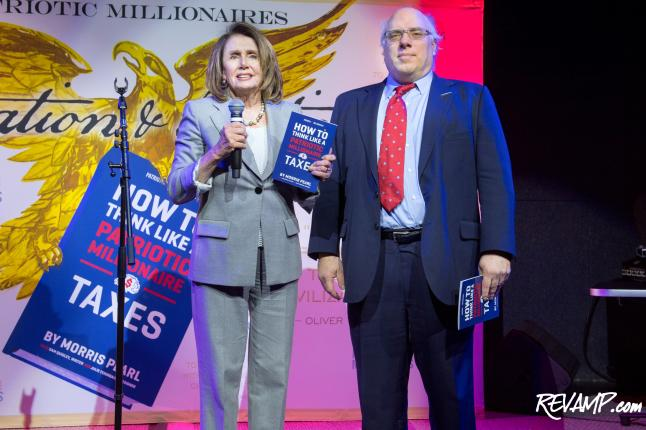 Nancy Pelosi Headlines 'Patriotic Millionaires' Party For Tax Day
